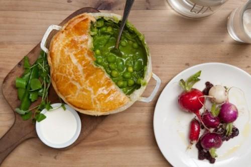 Fat radish - pot pie