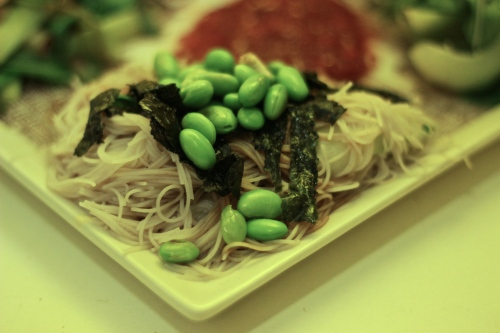 Summer rice noodles